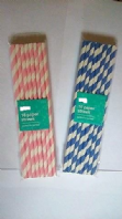 Pack of 16 paper straws (Code 2633)